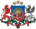 Latvijas Republikas Ārlietu Ministrijas logo