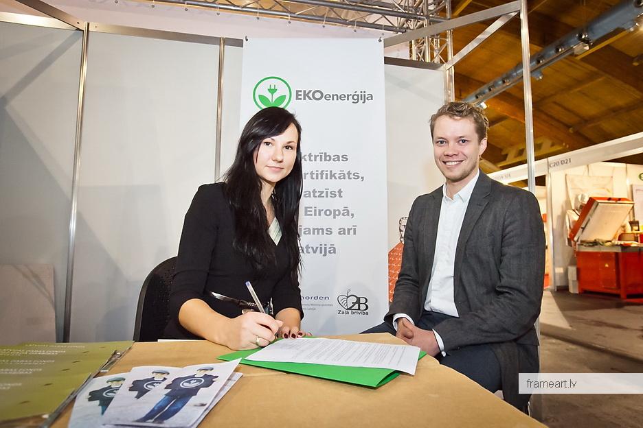 Zaļā kustība pievienojas EKOenerģijas sadarbības koalīcijai